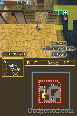 Dungeon Maker - Nintendo DS - screenshot