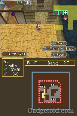 Dungeon Maker - Nintendo DS - screenshot