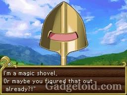 Dungeon Maker - Nintendo DS - shovel