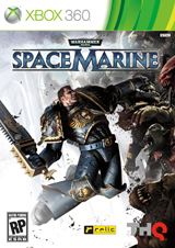 Space Marine - Xbox 360 - box art