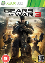 Gears of War 3 - Xbox 360 box art
