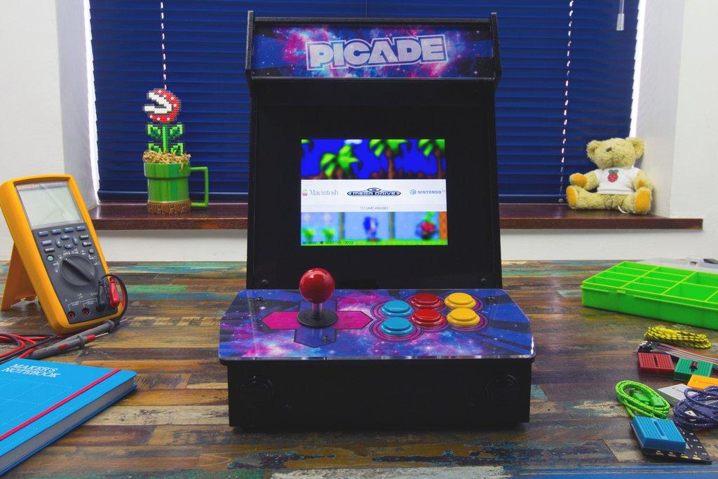 Pimoroni Picade, DIY Arcade Kit